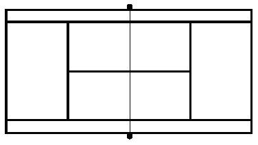 blank tennis court diagram clipart best