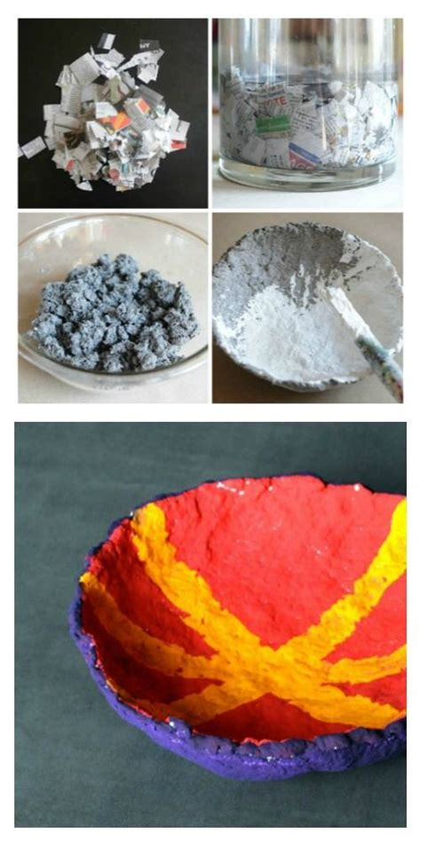 Paper Pulp Crafts - 25 unique pulp paper ideas on clay recipe