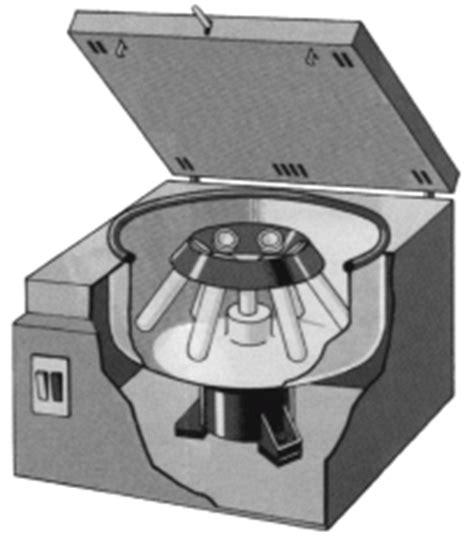 swinging head centrifuge biochemistry class notes principle of centrifugation