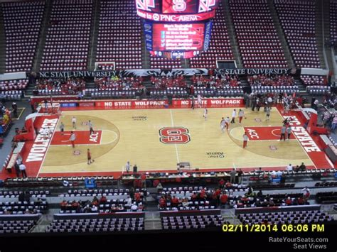 nc section pnc arena section 323 nc state basketball
