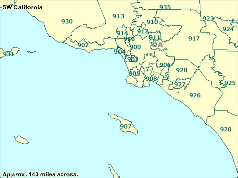 us area codes beginning with 9 100 zip code map los angeles los angeles area codes