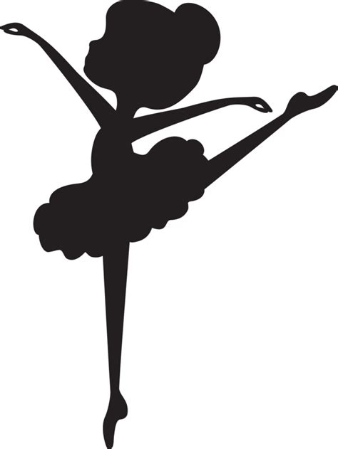 Cetak Sticker A3 Transparant Cutting 1 silueta imprimible bailarina silhouette ballerina and cricut