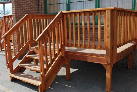Pre Built Porch spec deck pre built deck the redwood store