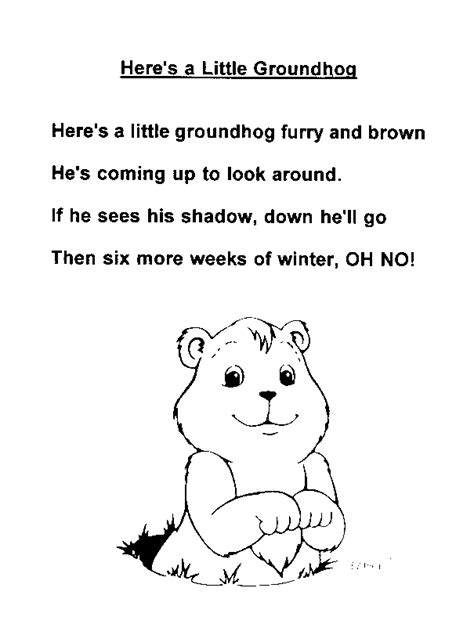 groundhog day meaning for preschoolers v poetry born to express impress april 2011