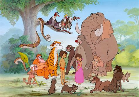 Disney Jungle Book Characters The Jungle Book Wallpaper