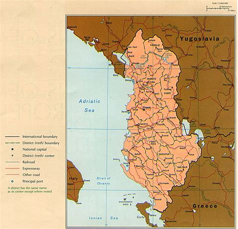albania political map maps of albania political map mapa owje