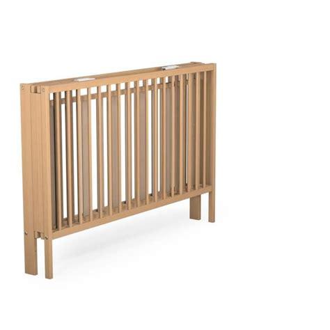 lit barreaux pliant lit bebe pliant en bois
