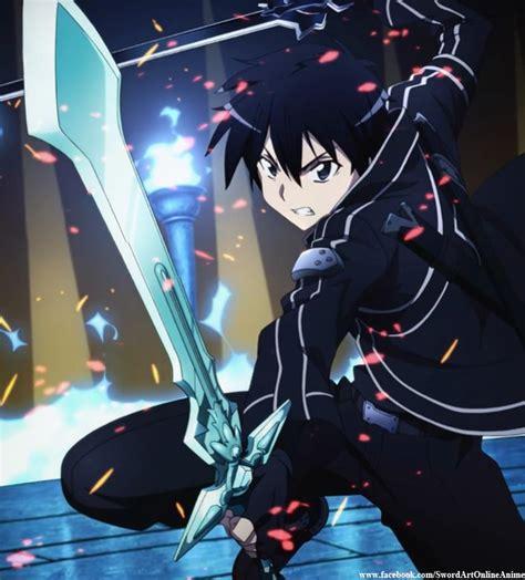 Kalung Anime Sword Sao Pedang Kirito 3 Sword Tanpa Kotak karakter sword