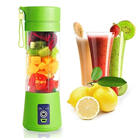 Juicer Blender Portable Rechargeable Real Picture updated version mibow usb juicer cup portable blender fruit mix machine rechargeable