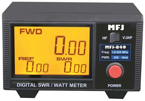 Swr Meter Digital unbox and test mfj 849 digital swr meter ham radio hams and radios