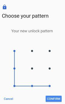 pattern lock nokia xl how to set pattern lock on google pixel pixel xl 7 1 2