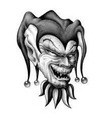 the gallery for gt evil clown tattoos drawings 29 best tattoo design clown images on pinterest tattoo