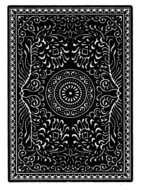 card patterns unnamed black card back pattern cards and boards and