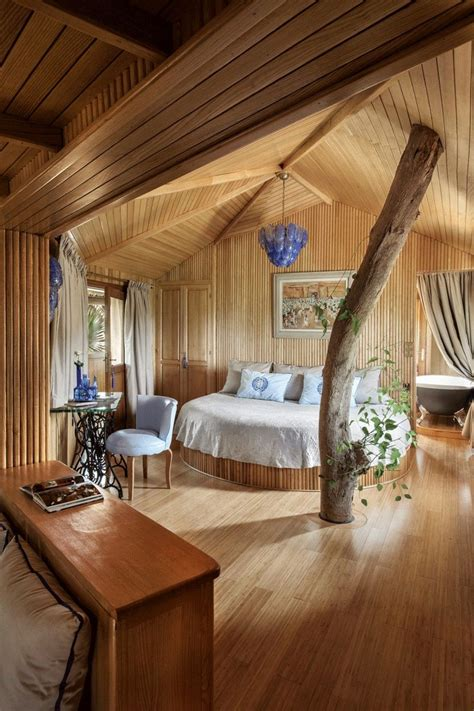 la bedroom in 21 amazing treehouse accommodations travel away