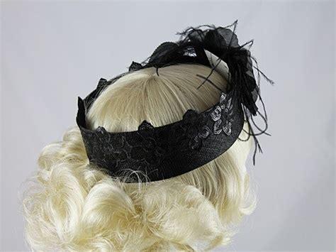 fascinators 4 weddings j bees millinery black band headpiece