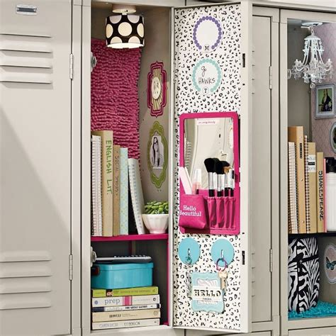 school locker decorations locker ideas for diy crafty ideas