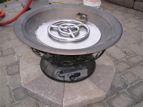 clean burning outdoor firepits propane burner authority