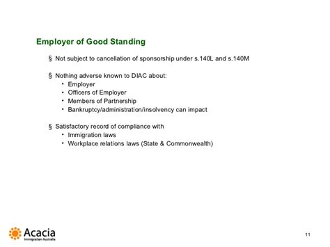 sle letter of good standing from employer image