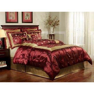 overstock com comforter sets queen maison 8 piece queen comforter set