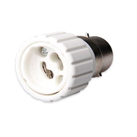 light bulbs with prongs bc b22 bayonet cap to gu10 2 prong cap light adaptor