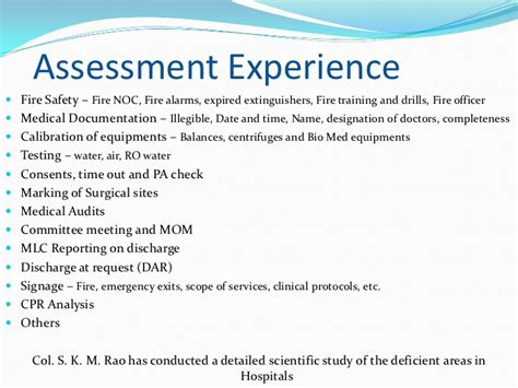 Experience Letter Quality Pillars Of Quality An Overview Of Nabh Dr A M Joglekar At Knowle