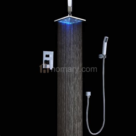 shower systems ceiling dree 8 quot ceiling led shower shower system