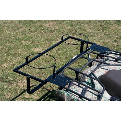 Carrier The Banchee 50 atv and crate carrier 125599 racks bags at sportsman s guide