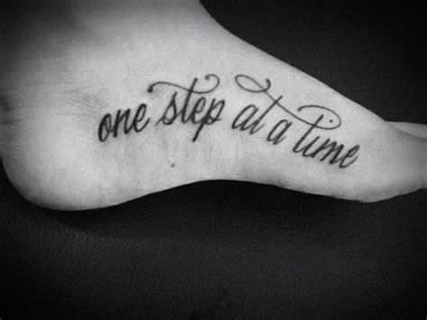 foot tattoo quotes about life quotes foot tattoos quotesgram