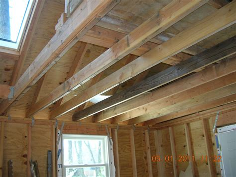 Home Design App 2nd Floor How To Reinforce 2x6 Ceiling Joists To Handle Heavy Loads