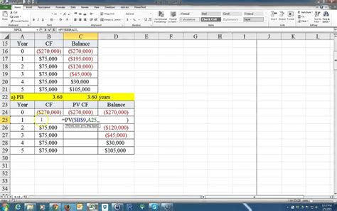payback period template how to calculate the payback period and the discounted