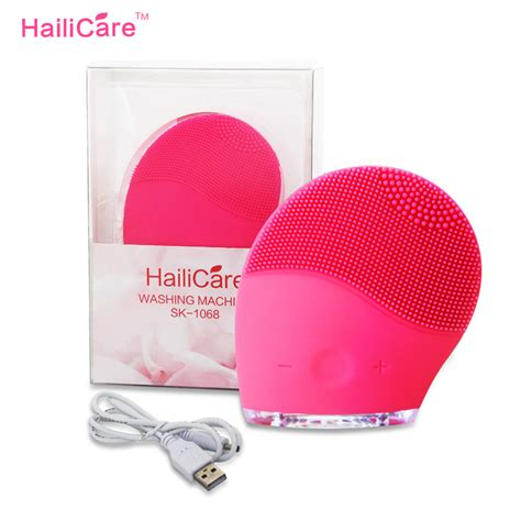 serenity silicone electric facial cleansing brush aliexpress com buy super face wash brushes machine soft
