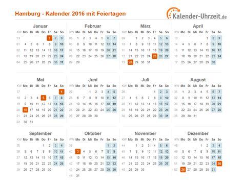 Ostern Kalender 2016 Feiertage 2016 Hamburg Kalender