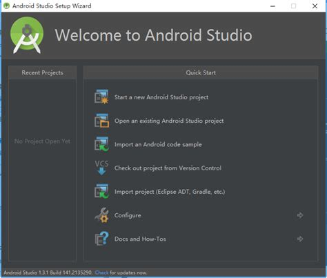 setup wizard android welcome to android studio android tools project site review ebooks