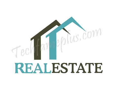 real house top 11 real estate logo with cdr file techfameplus