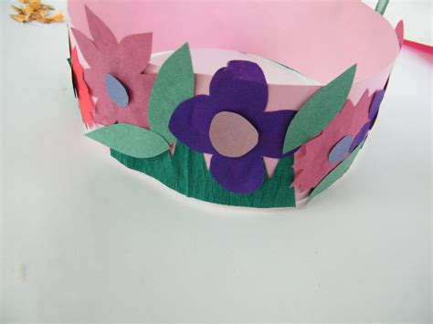 crown craft for make princess or flowers crown craft for