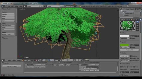 tutorial blender tree bge rts tutorial 1 low poly trees youtube