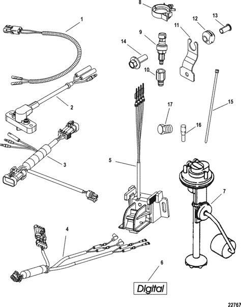 Mercury Marine Electrical Smartcraft Conversion Kit