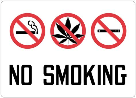 no smoking sign weed introducing new marijuana signs stonehouse signs