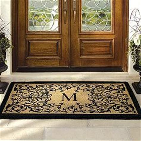 Entry Door Mats For Doors 33 Best Images About Rug Stencils On Vineyard