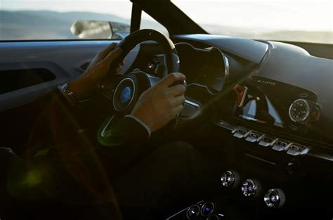 renault alpine interior renault alpine concept interior leaked ahead of imminent