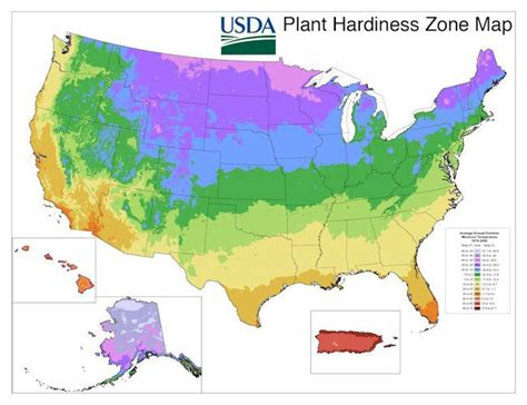 planting zone map usda plant hardiness zone map high country gardening