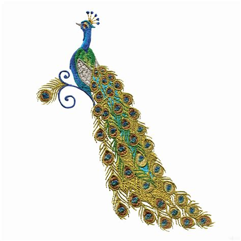embroidery design of peacock swnpa129 peacock embroidery design