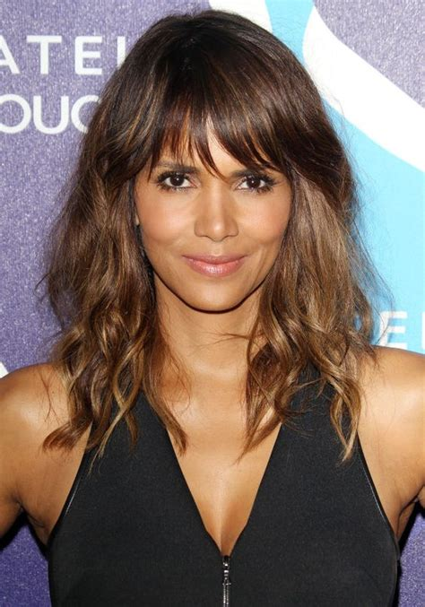 feathered hairstyles for halle berry the best hairstyles for medium wavy hair wavy bobs