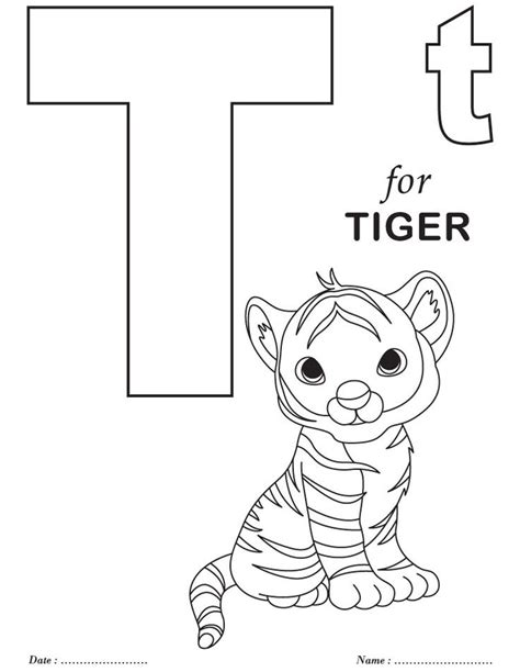 coloring pages for nursery class printables alphabet t coloring sheets abc s and reading