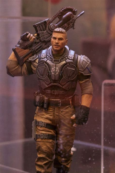 b carmine figure let neca get the gears of war license again figures and