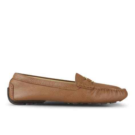 ralph womens loafers ralph s carley leather loafers polo