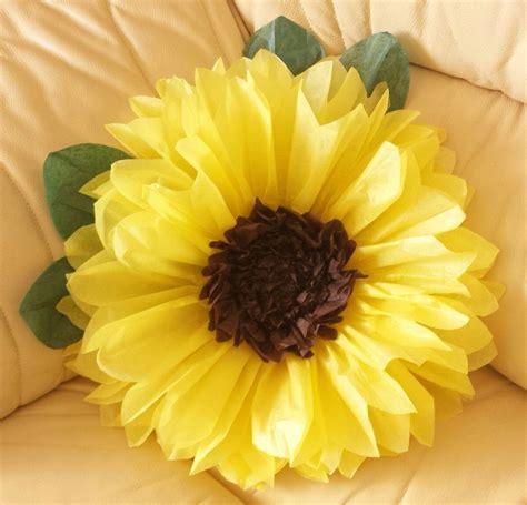 Sunflower By Paper - pompom pom pom paper sunflower birthday wedding venue