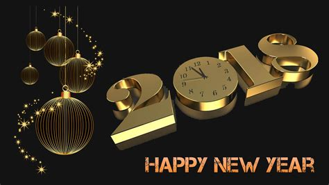 wallpaper for pc happy new year 2018 happy new year 2018 gold 3d desktop desktop wallpaper for
