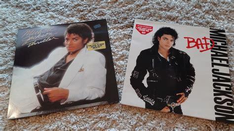 michael jackson bad vinyl original popsike lp 2 lp s michael jackson thriller 1982
