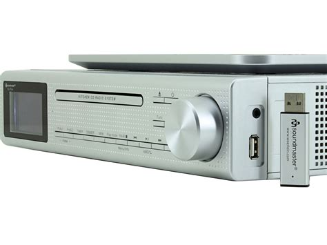 under kitchen cabinet radio cd player soundmaster eliteline ur2195si under cabinet bluetooth cd